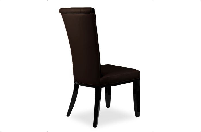Alpine Brown Leather Dining Chair