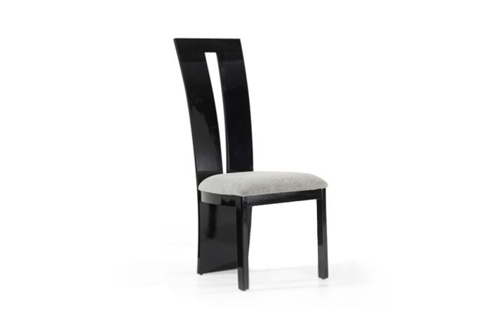 Verbier Chair Black Front